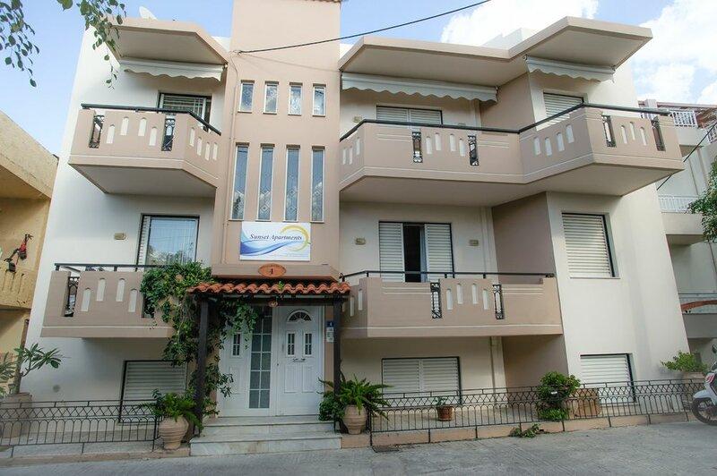Sunset Apartments Rethymno