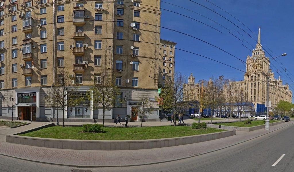 Панорама магазин цветов — Роза плаза — Москва, фото №1