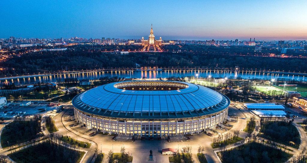 спортивный комплекс — Большая спортивная арена Олимпийского комплекса Лужники — Москва, фото №1