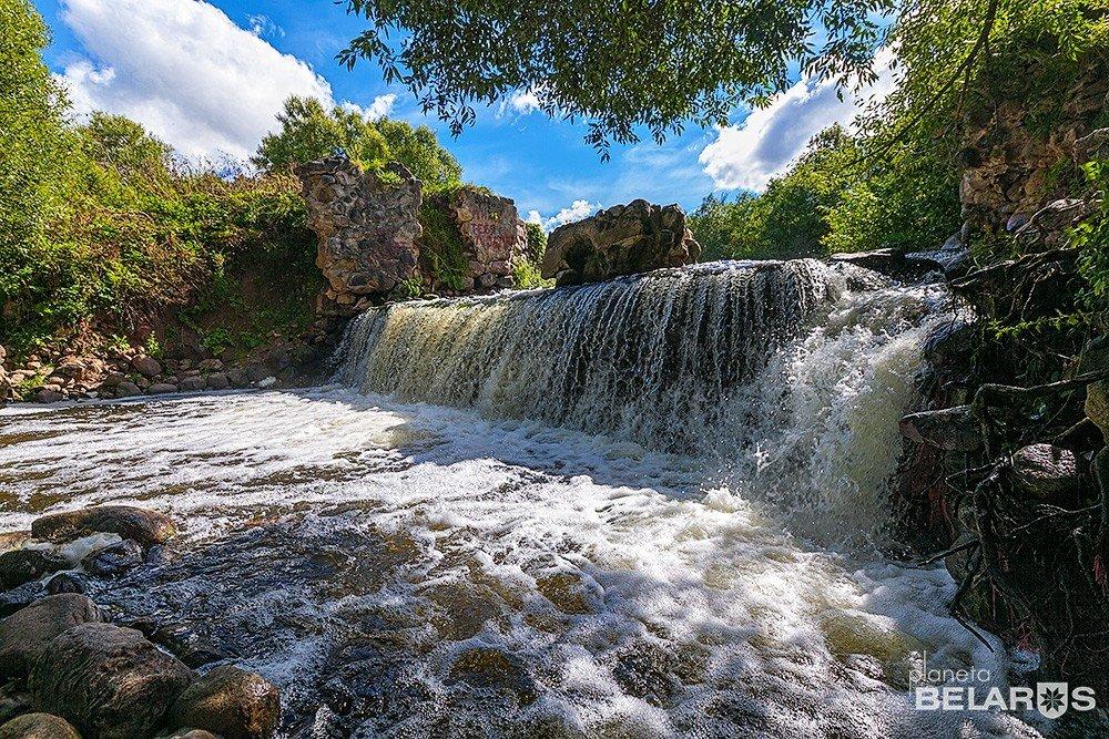 водопад — Водопад на реке Вята — Витебская область, фото №1