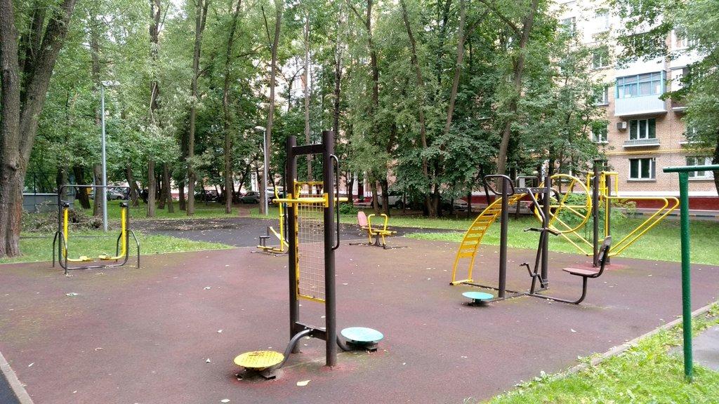 sports activity location — Спортивная площадка — Moscow, фото №1