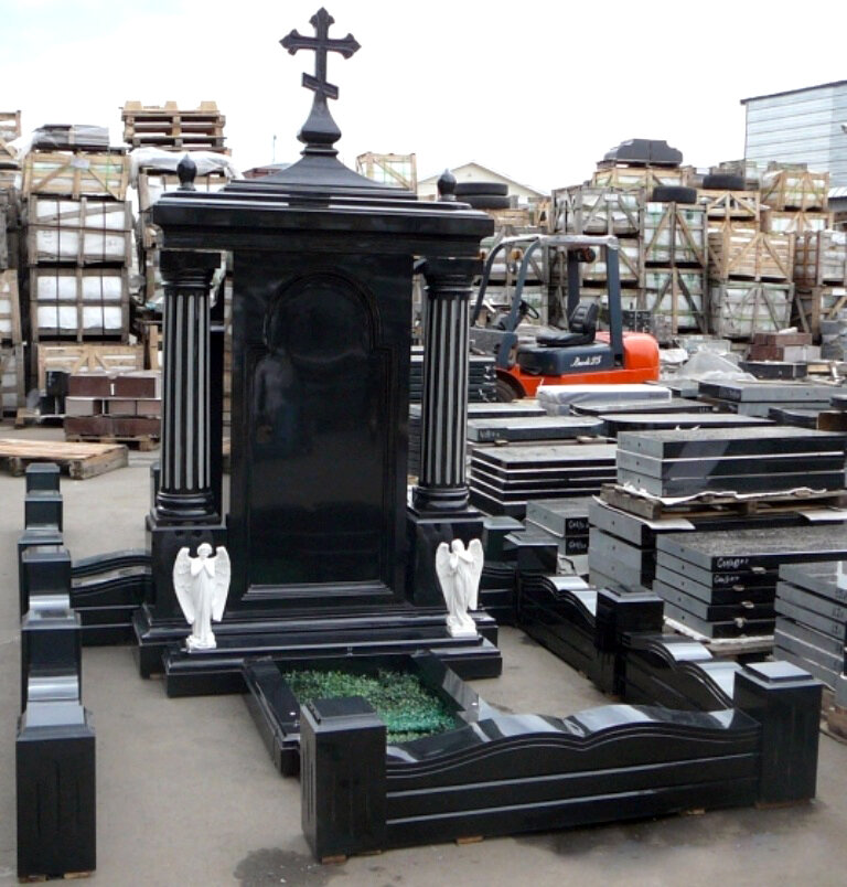 красивые надгробные памятники фото бесконечность фото