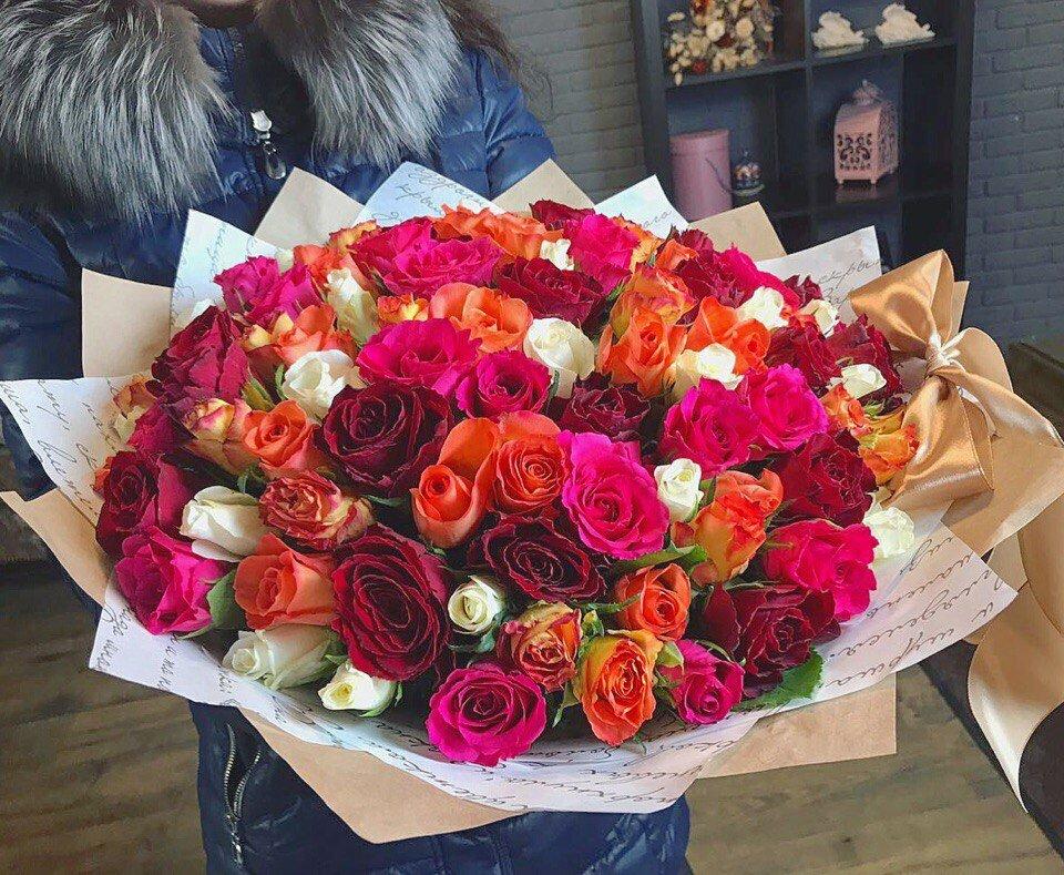 Доставка цветов и поздравлений ростов на дону западный округ, девушке вместо