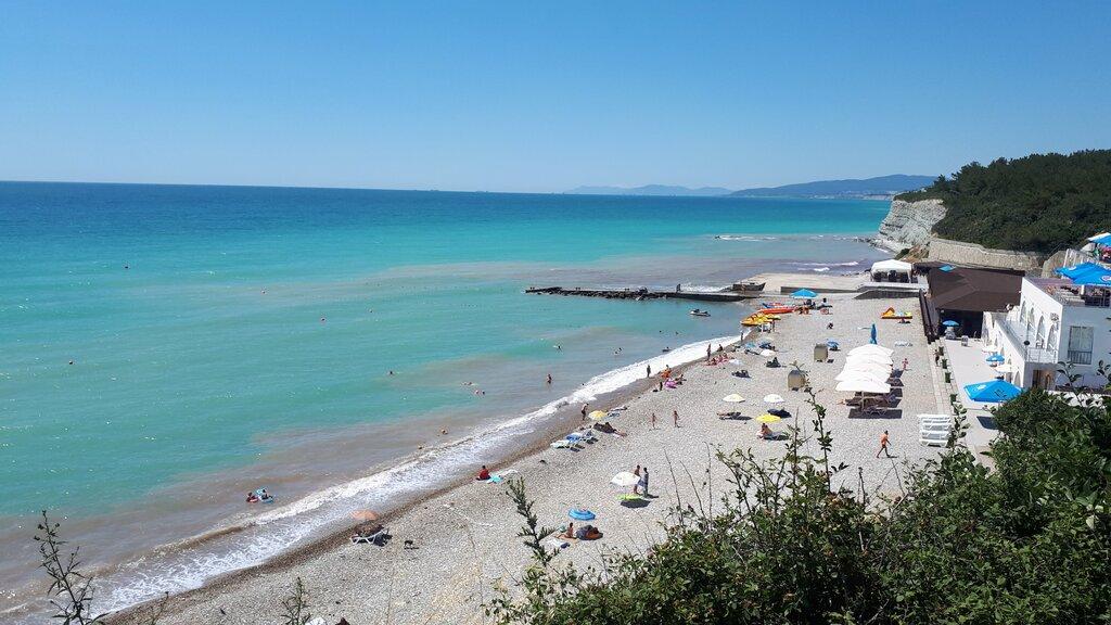 Дивноморское пляж факел фото