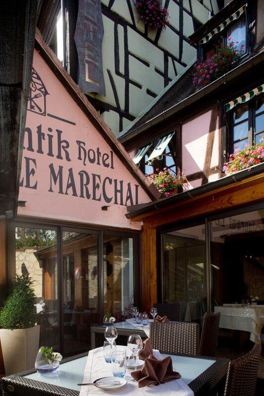 Отель Hostelerie Le Marechal