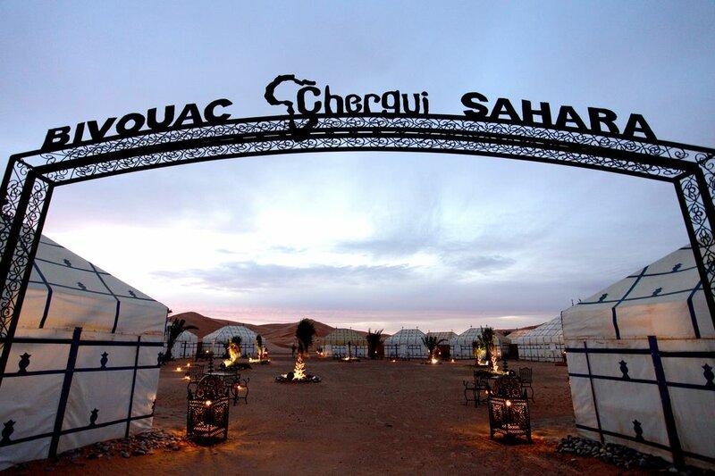 Bivouac Chergui Sahara
