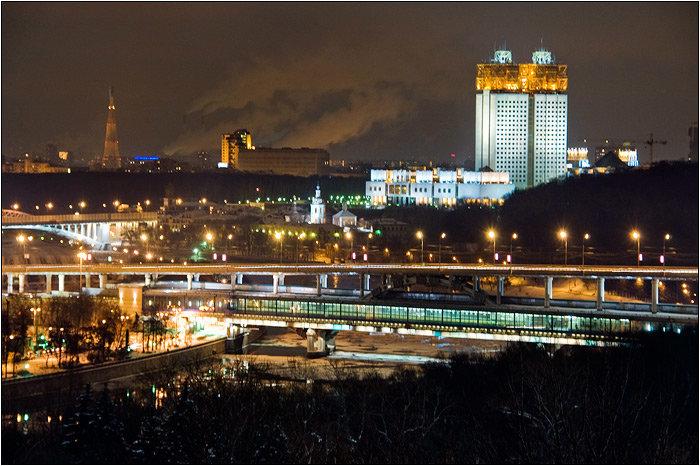 смотровая площадка — Смотровая площадка Воробьёвы горы — Москва, фото №4