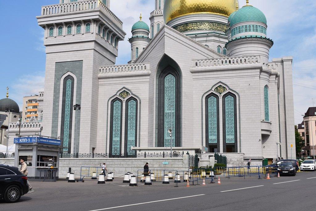 фотографии московской мечети остановка поворотная