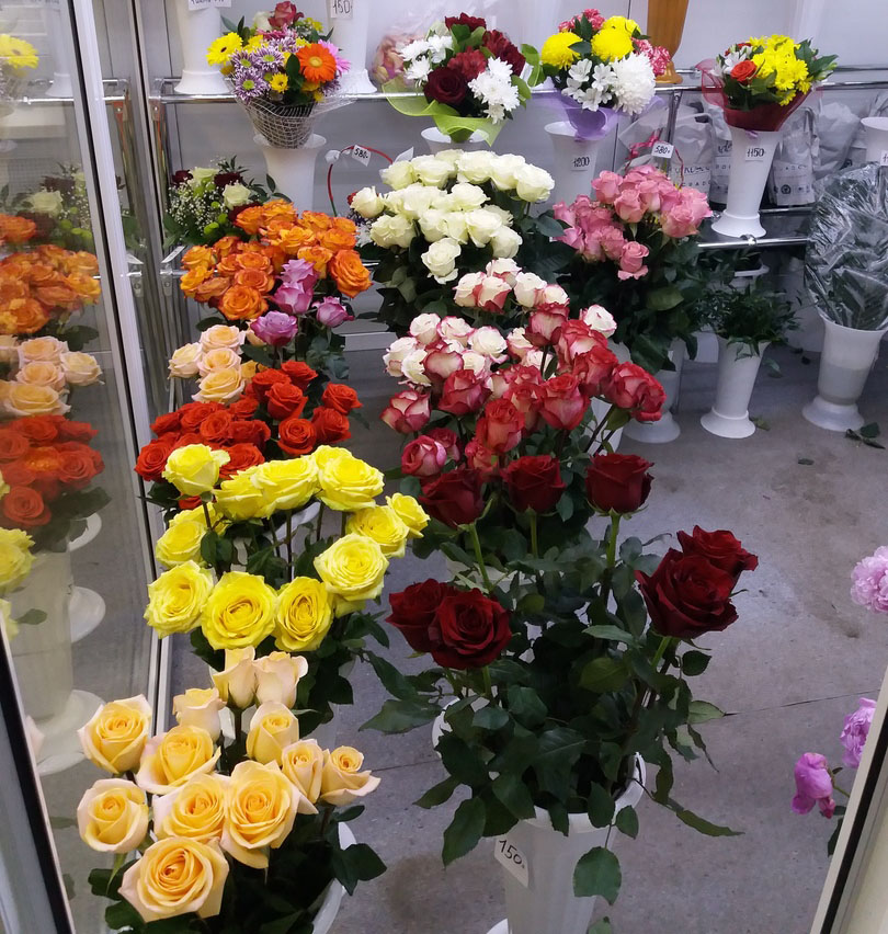 Магазин цветов лучшие розы