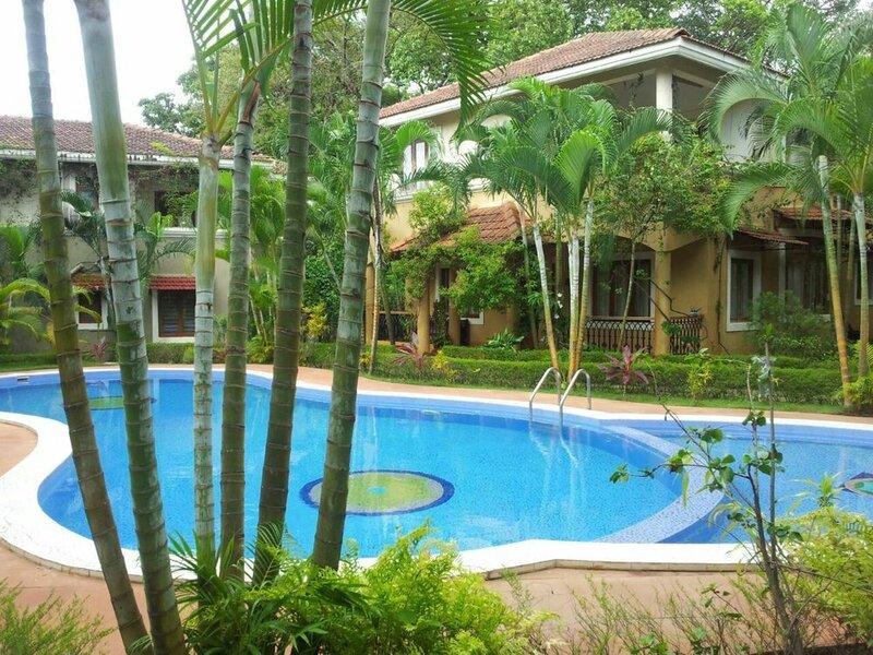 Villa Fountain Court near Anjuna Beach
