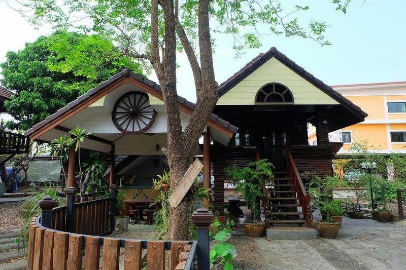 Wood Night House
