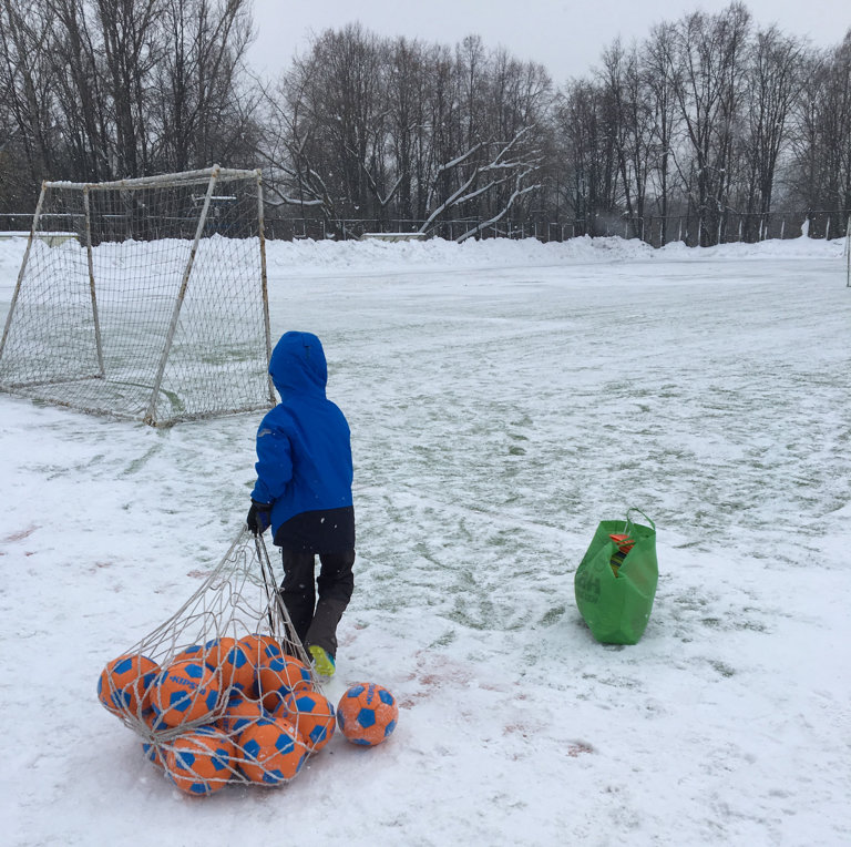 sports activity location — Футбольное поле — Moscow, фото №4