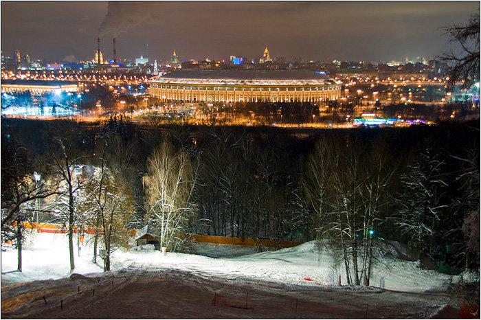 смотровая площадка — Смотровая площадка Воробьёвы горы — Москва, фото №5
