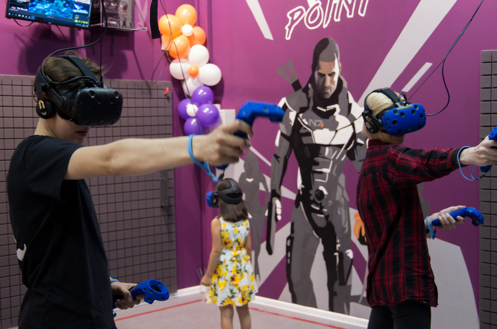 клуб виртуальной реальности — VRpoint — Москва, фото №9