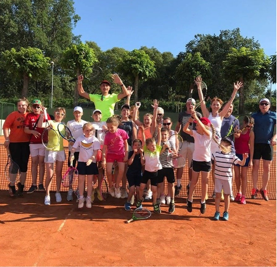 спортивный клуб, секция — Теннисный клуб Лига теннис — Москва, фото №9