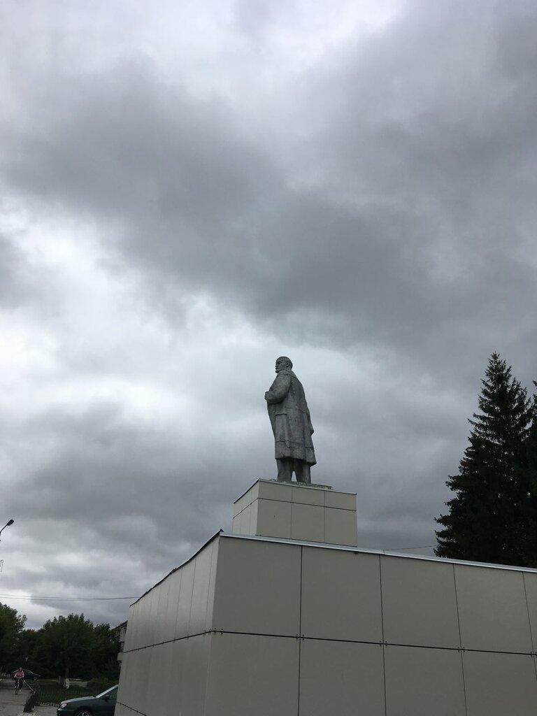 картинка памятник ленину курган попытались разобраться