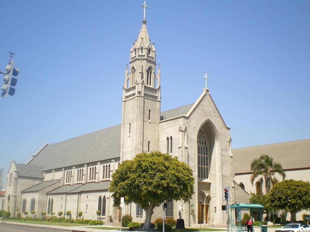 Американская церковь картинки