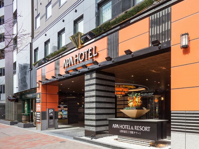 Apa Hotel & Resort Nishishinjuku Gochome Eki Tower