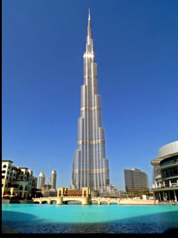бизнес-центр — Бурдж-Халифа — Дубай, фото №1
