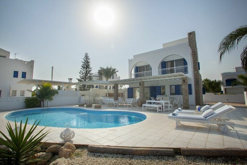 Protaras Seafront Villa Mimosa