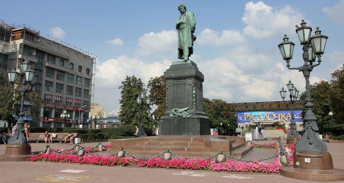 достопримечательность — Пушкинская площадь — Москва, фото №3