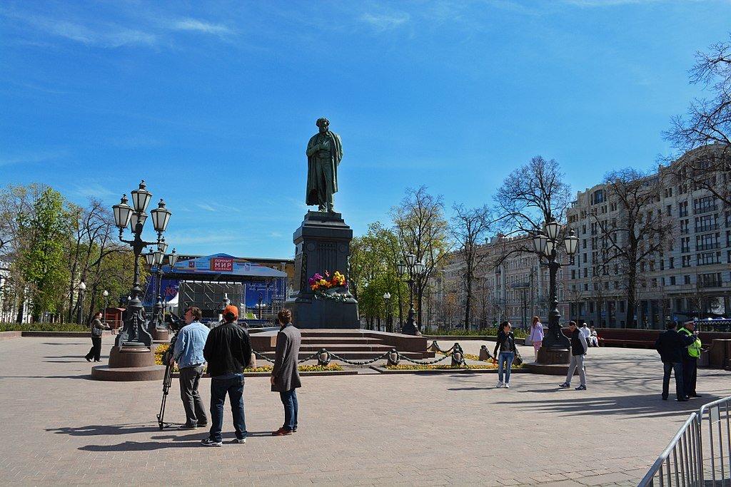 достопримечательность — Пушкинская площадь — Москва, фото №9