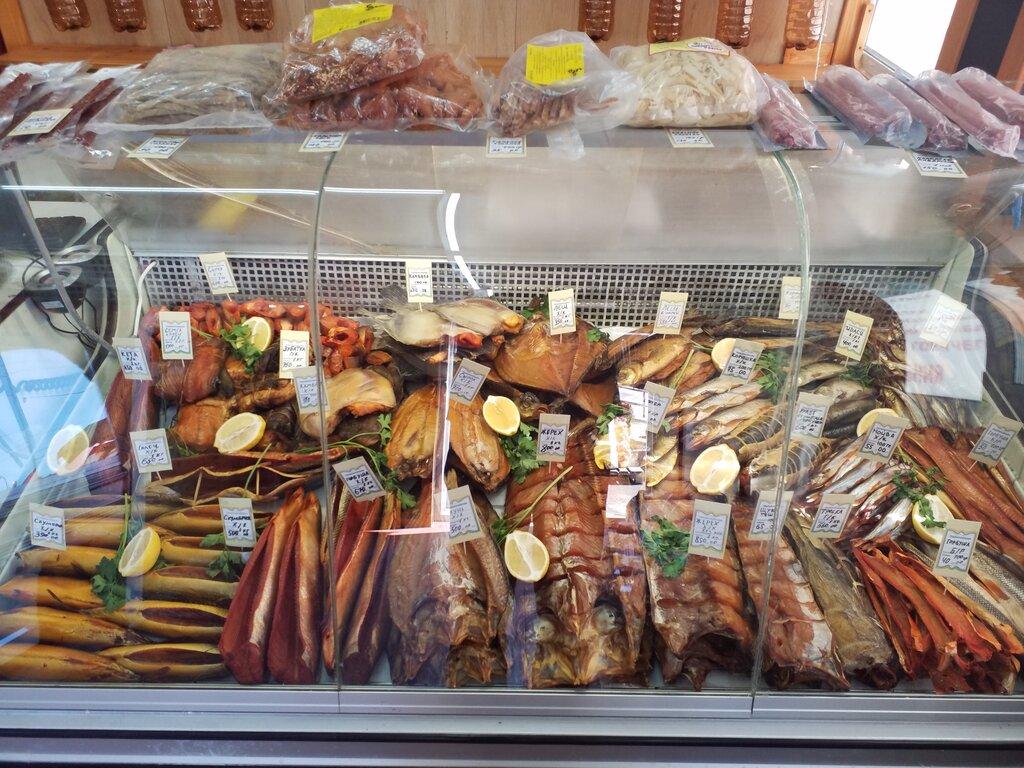 выкладка копченой рыбы в магазине фото для этого использовать