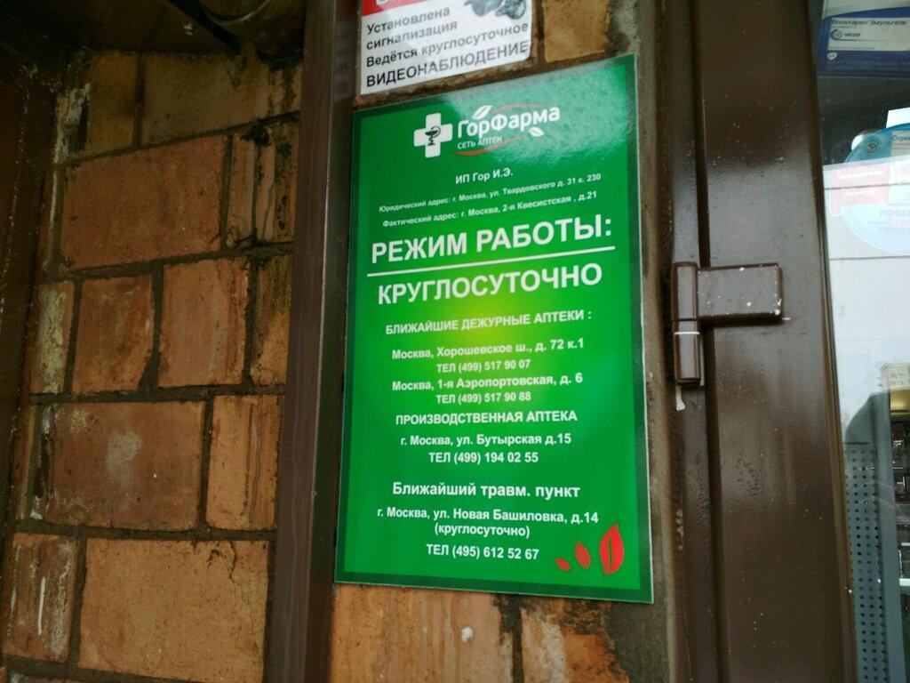аптека — Горфарма — Москва, фото №3