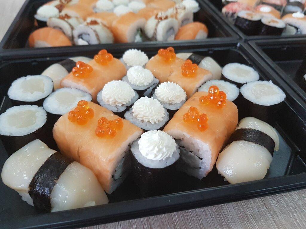 вот так фото суши из магазина нашими
