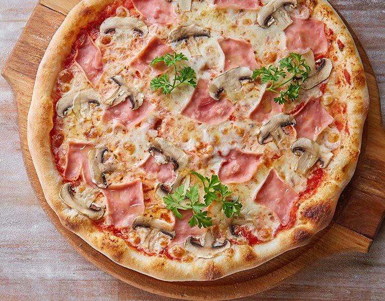 Пицца с ветчиной картинки