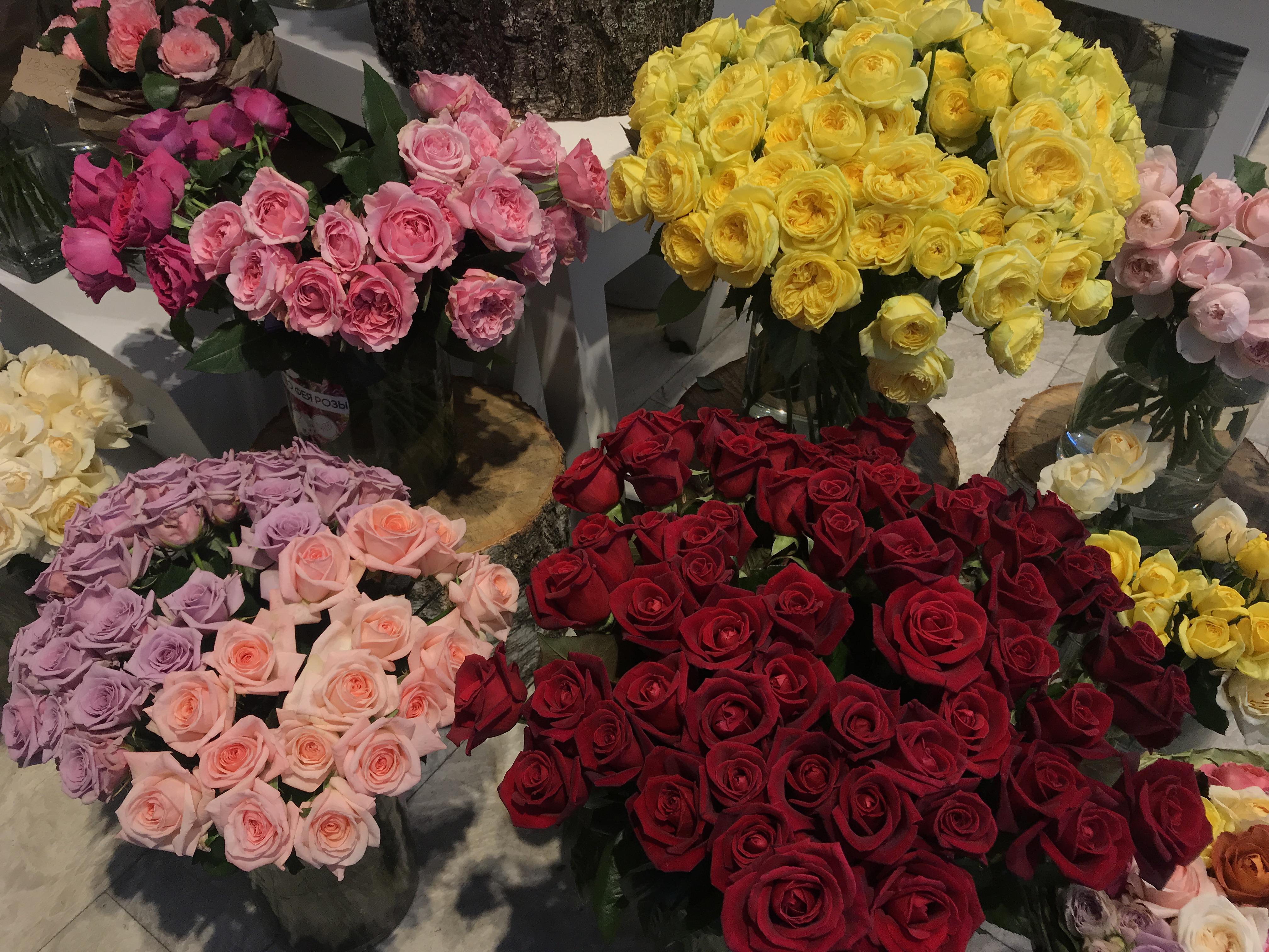 Цветочный магазин цена букет розы киев киевская, букеты голубом оформлении