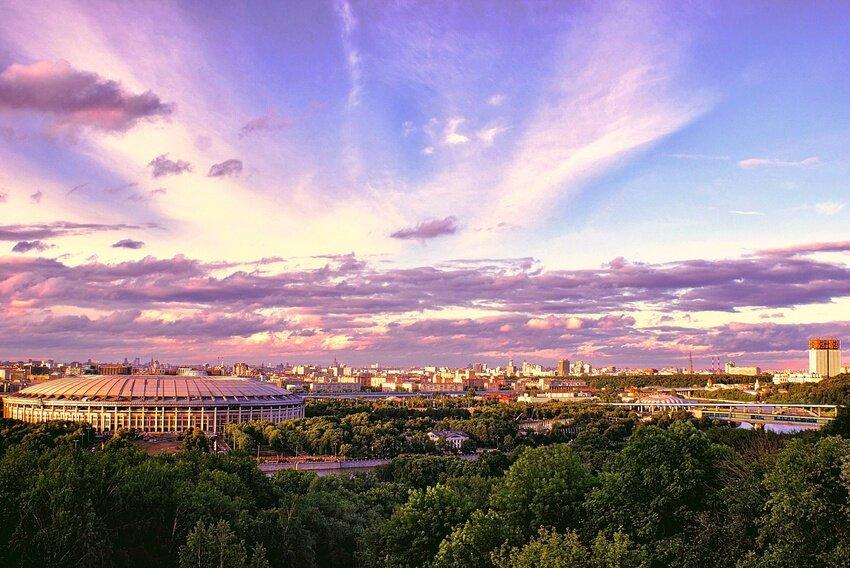 смотровая площадка — Смотровая площадка Воробьёвы горы — Москва, фото №6