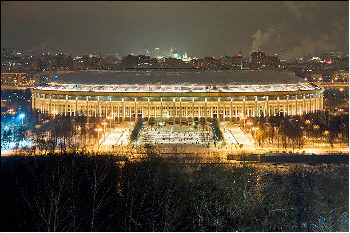 смотровая площадка — Смотровая площадка Воробьёвы горы — Москва, фото №2