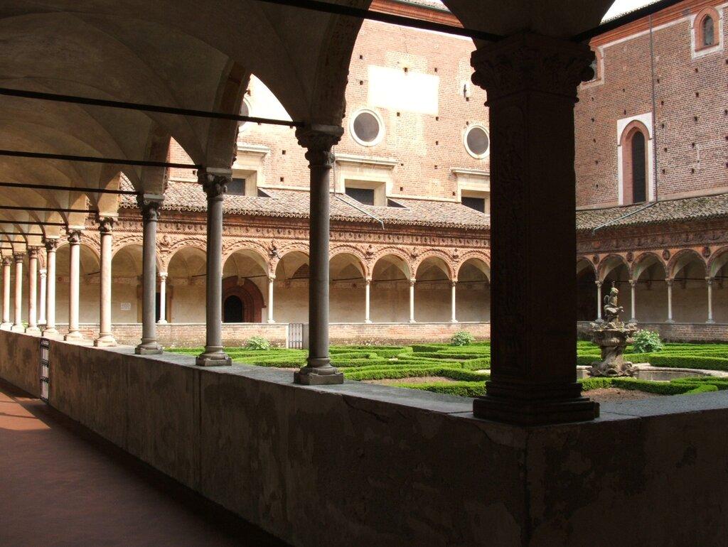 монастырь чертоза ди тризульти фото циркуляция воздуха внутри