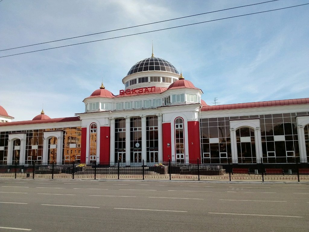 железнодорожный вокзал — Железнодорожный вокзал — Саранск, фото №1