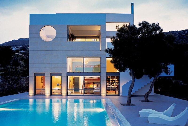 Minimal Blue Villa