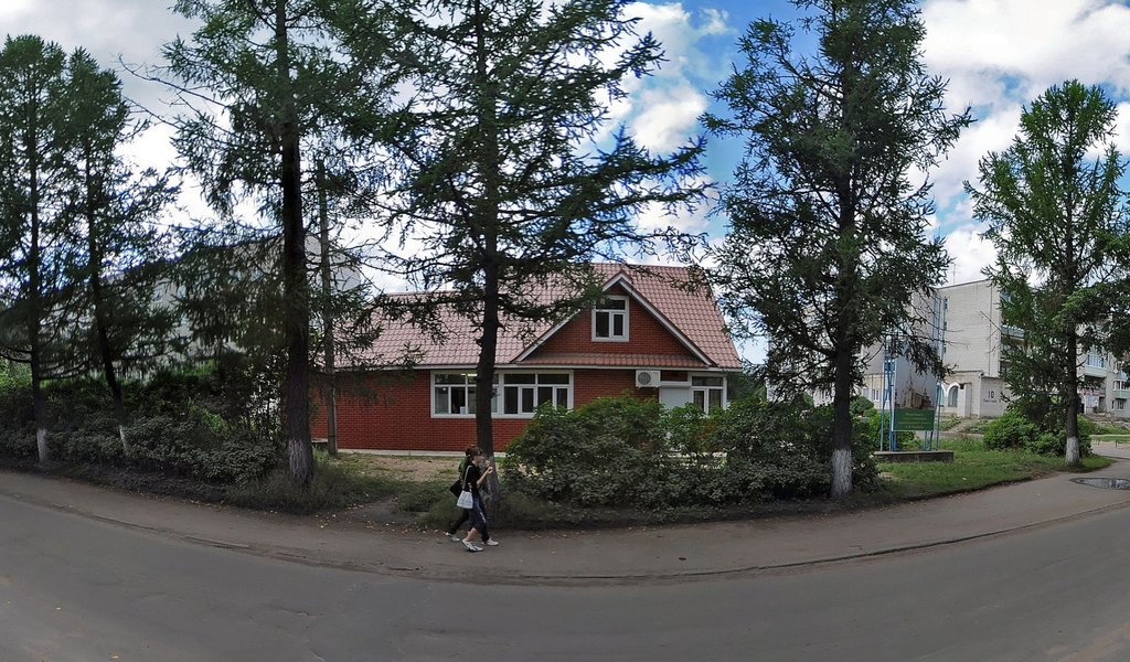 Панорама cafe — Городской парк — Novaya Ladoga, фото №1