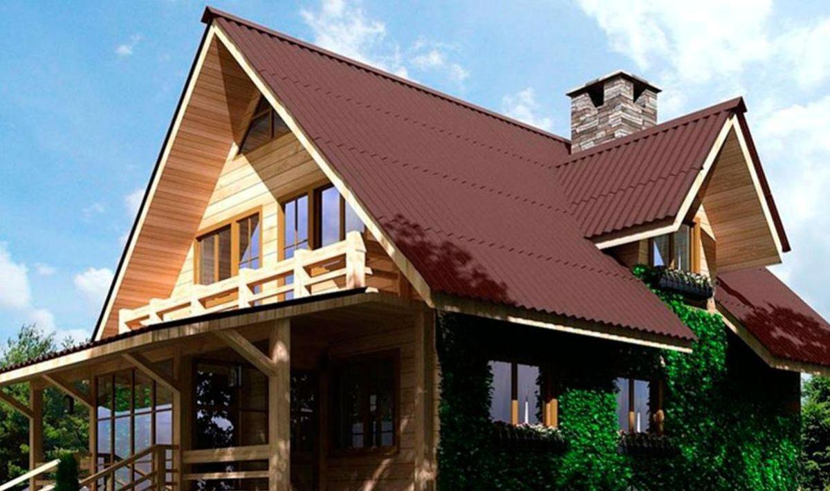 крыша ондулин фото