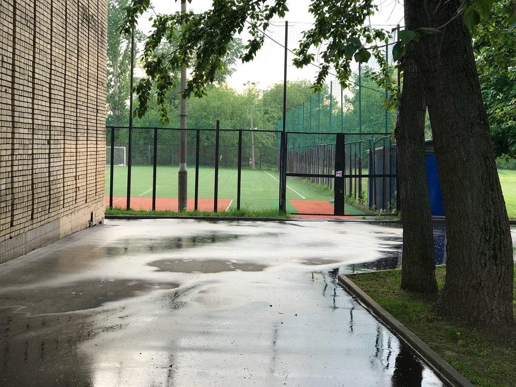 sports activity location — Футбольное поле — Moscow, фото №1