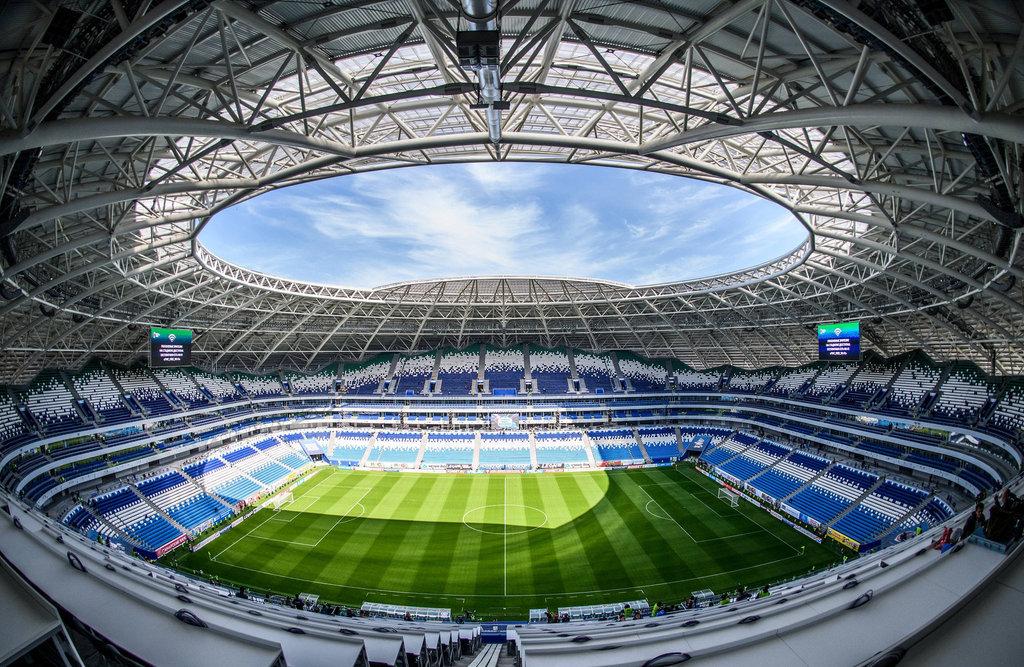 Самара Арена, стадион, Демократическая ул., 57, Самара, Россия ...