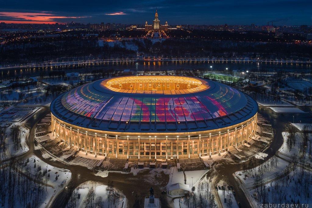 стадион — Лужники — Москва, фото №6
