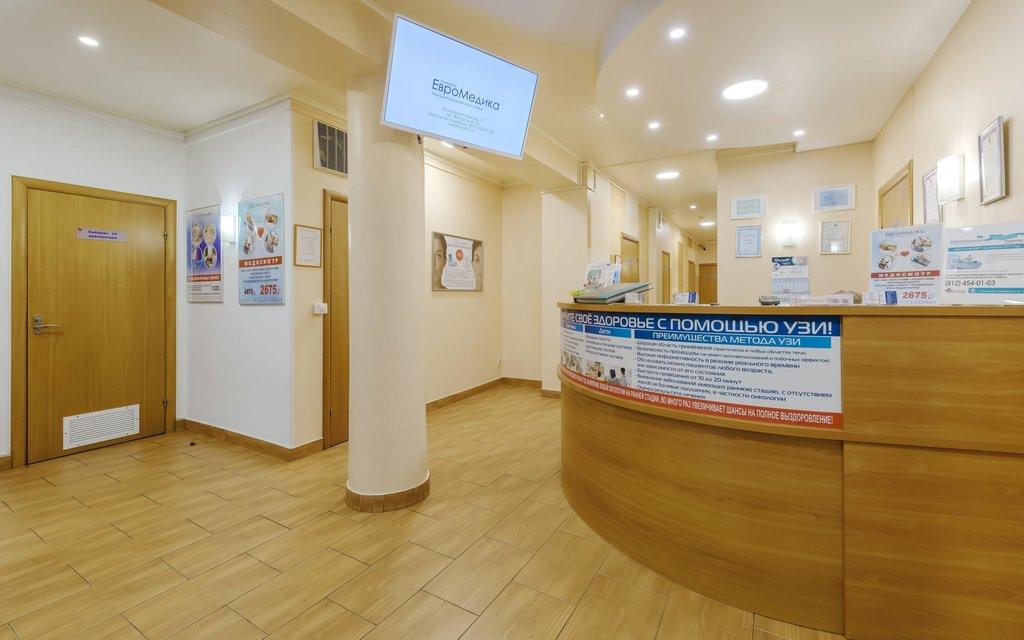 медцентр, клиника — ЕвроМедика — Санкт-Петербург, фото №1