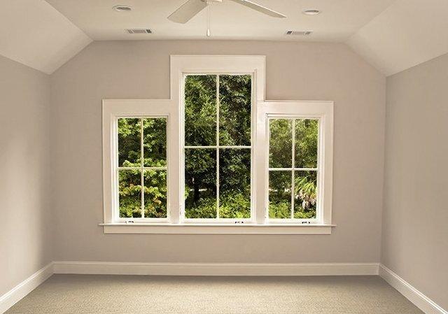 картинка комнаты без мебели с окном училище обычно
