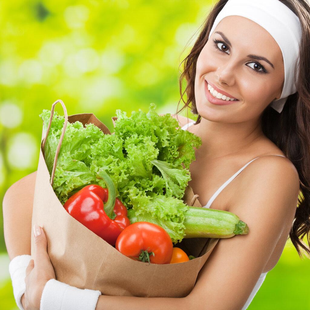 Ешьте зелень похудеют