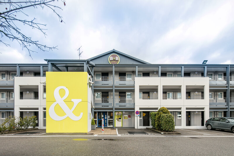 B&b Hotel Grenoble Université