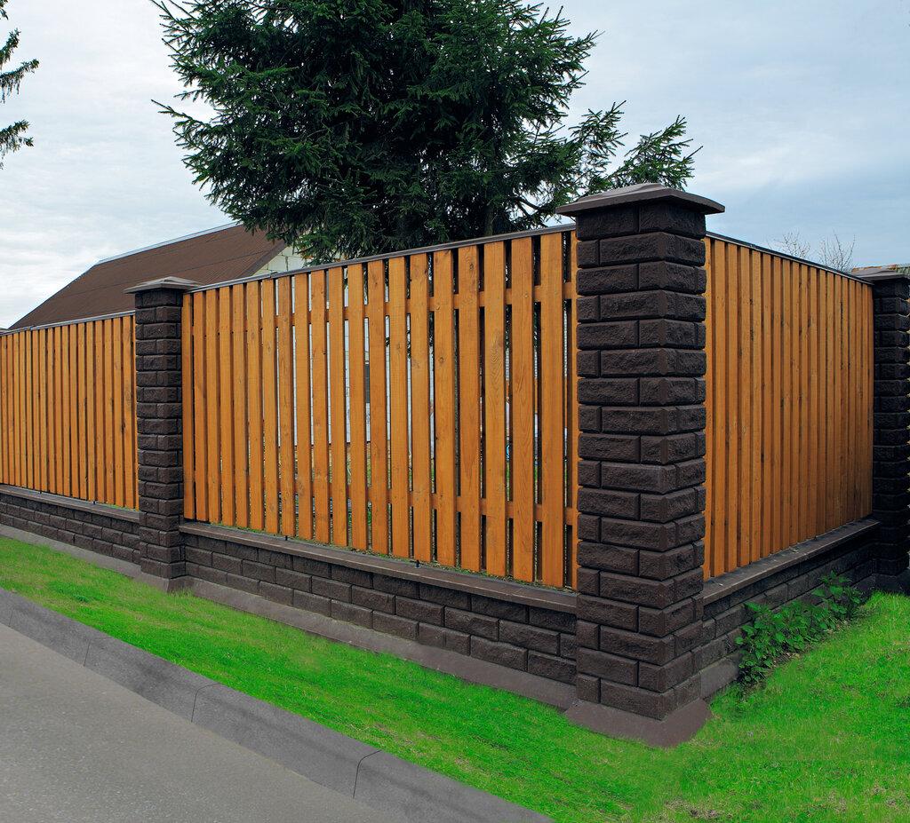 виды деревянных заборов для частных домов фото может самая высокая