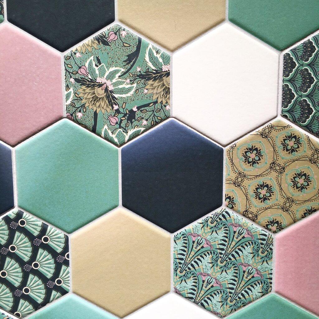 single hexagon tiles - 700×700
