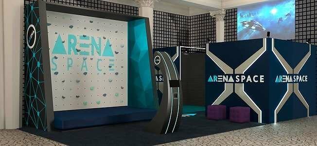 клуб виртуальной реальности — ARena Space - центральный офис — Москва, фото №2