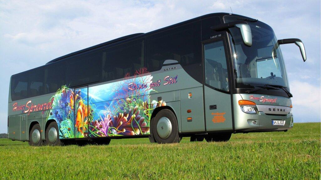 Большая картинка автобуса