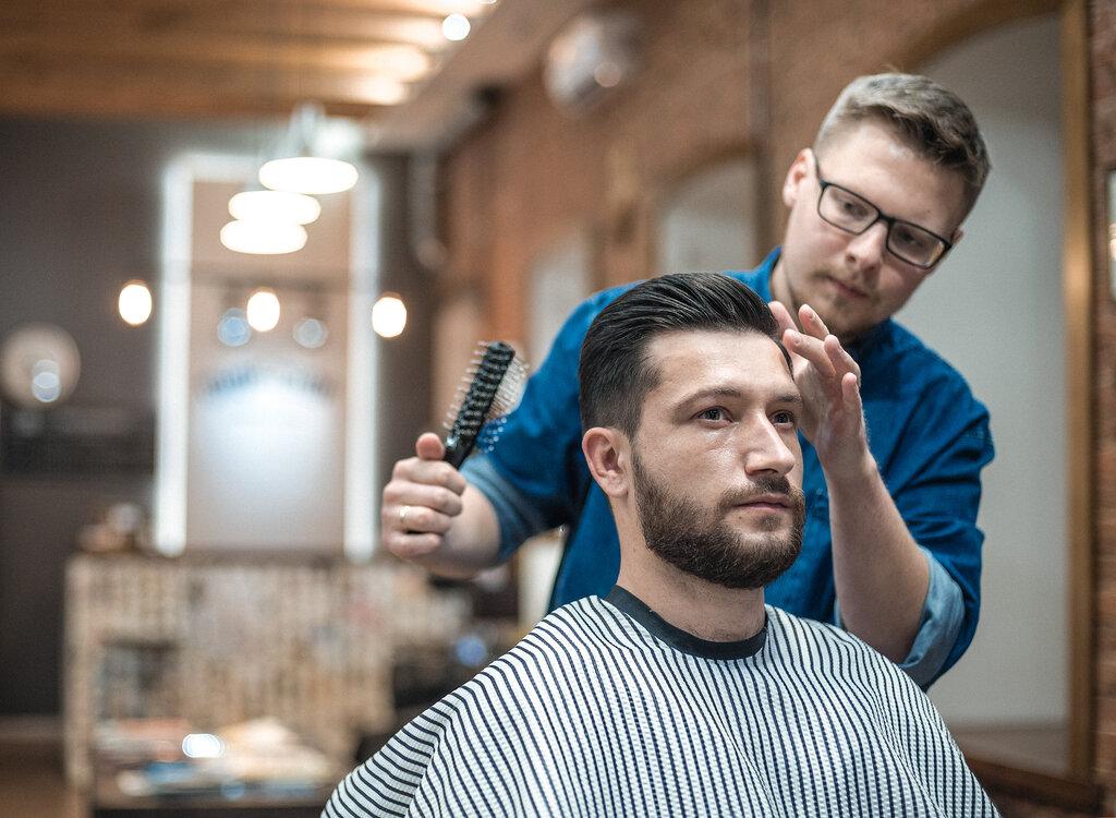 парикмахерская картинки мужчине будет